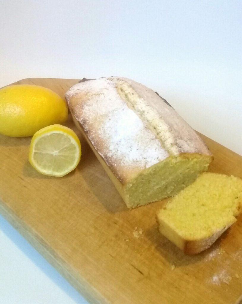 лимонный кекс нарезанный фото приготовления