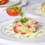 рецепт салата красное море