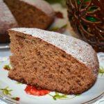 торт на кефире рецепт с фото