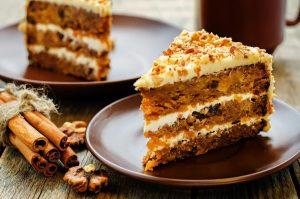 фото морковный торт