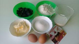 ингредиенты для маффинов
