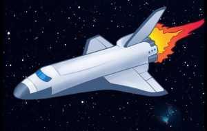 полет космического корабля