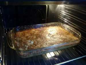 запеканка из тертого картофеля с фаршем в духовке