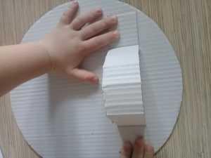 ручка для картонного щита