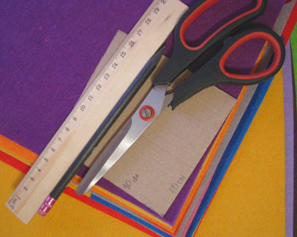 материалы для пошива пазлов из фетра