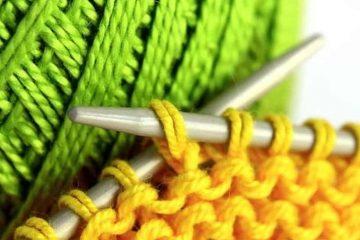 материалы и инструменты для вязания