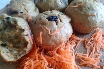 морковные кексы с пряностями