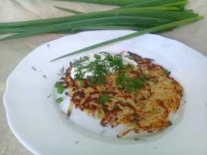 картофельные лепешки без муки