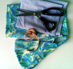 хлопковая ткань для косынки на резинке