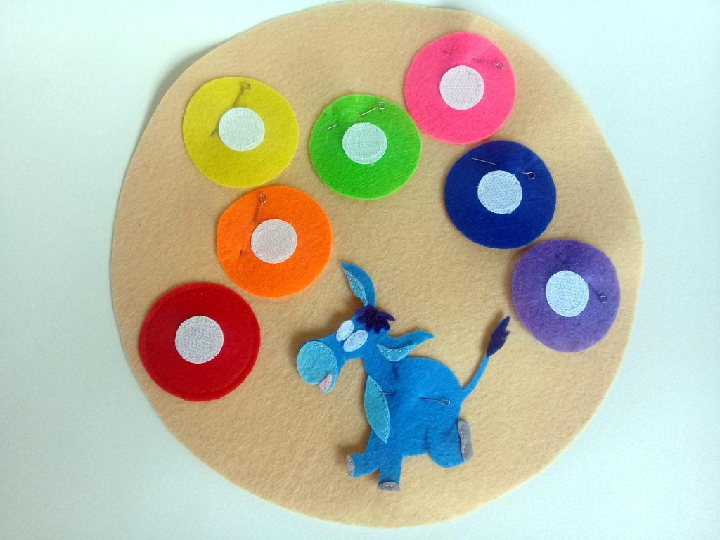 пошив развивающей игрушки из фетра