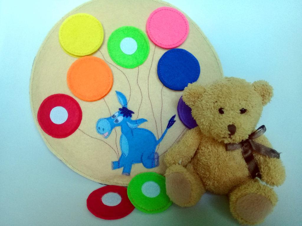 развивающая игрушка из фетра2