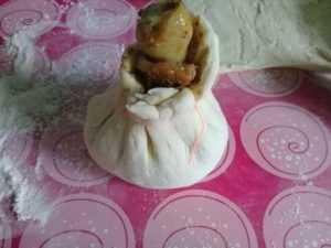 куриная голень в тесте(2)