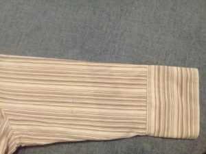 отрезанный рукав рубашки