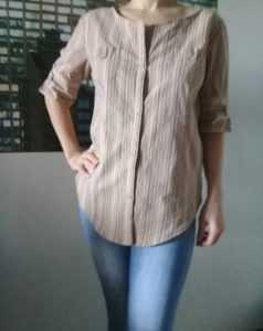 перешить рубашку в блузу